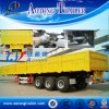 3 Axles Side Wall Cargo Semi Trailer