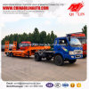 Curb Weight 8500kg Low Bed Semi Trailer with 8000mm Platform