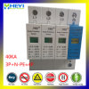 Surge Arrester 40ka 420V 4 Pole 3p+N-PE 40A Lightning Prevention Hot Sale Surge Protective Device