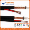 Security 75ohm Coaxial Cable Rg59 with Power Cable