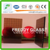 3.5mm Bronze Wired Nashiji Patterned Glass for Furniture Glass
