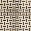Trio Brown Cream Natural Stone Mosaic for Wall