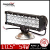 "Professional 10.5"" 54W Jeep Dune Buggy LED Light Bar with Double Mounting Bracket"