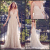 Lace Bridal Gowns Bohemia Beach Country Wedding Dresses Mn446
