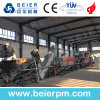 High Productivity HDPE Film Recycling Line for Washing Drying Agriculture Foil PP Raffia Bags Woven Bags with Wet Crusher