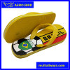 Men PE Slipper Sandal with Soccer and Brazil Printing