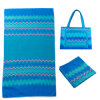 2PCS in Set Microfiber Beach Towel with Bag