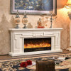 Modern Hotel Furniture TV Stand Heater Electric Fireplace with Ce (342S)