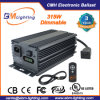 Hydroponic Low Frequency 315W CMH Cdm Electronic Grow Light Dimmable Digital Ballast for Philips with LED Display