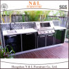 N&L Stainless Steel Modular Kitchen Portable Outdoor Kitchen