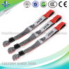 2017 Cheap Custom Festival Fabric Woven Wristbands for Events