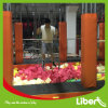 Indoor Park Free Jumping Trampoline with Hanging Bars&Ninja Warrors