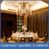 Customized High-End Interior Stainless Steel Decorative Backgroud Curtain Wall