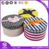 Printed Custom Cylinder Packaging Flower Round Paper Box