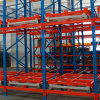 Pallet Rack with Push Back Cart