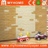 Self Adhesive Wall Paper XPE Foam 3D Wall Panel Waterproof