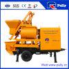 Pully Manufacture 40m3/H Double Shaft Mixer Concrete Pump (JBT40-L)