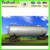 Heavy Loaded Railway Tank Wagon; Tank Wagon on Railway