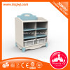 Child MDF Wooden Nursery School Furniture Cabinet Set