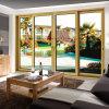 Feelingtop Excellent Soundproof Double Layer Tempered Glass 2.0mm Aluminum Sliding Door (FT-D120)