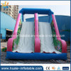 Amusement Park Inflatable Slide with Climbing Wall