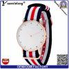 Yxl-217 Fashion Watches Daimond Rose Gold Plated Mens Nylon Strap Wristwatches Men′s Quartz Popular Sports Watches Relogio Masculino