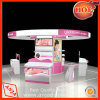 MDF Makeup Display Shelf Stand for Shop