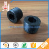 High Quality Black Spray Finish Nylon Plastic Part