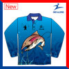 Cheap Custom Design Your Own Sublimation Fishing Mens Long Sleeves Shirts