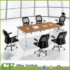 Classic MFC Conference Table with Steel Frame