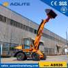 Earth Moving Machinery 1200kg Wheel Mini Telescopic Boom Loader with Price