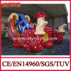 New Clown Inflatable Dry Slide From China