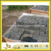 G684 Black Basalt Paving Stone Foor Outdoor Driveway / Patio