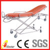 Adjustable Foldaway Stainless Steel Medical Ambulance Stretcher (AL-S023)