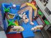 Wacky Inflatable Amusement Park for Kids (CYFC-411)