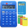 Promotional Gift 8 Digits Dual Power Pocket Calculator with Various Colors (LC396B)