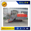 4lz-2.0d Double Thresher Rice Combine Harvester with Rubber Track