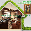 2016 Newest Design Double Glazing Aluminum Wood Window, Beautiful Metal Window with Popular Full Divided Grille
