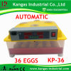 CE Approved Small Reptile Egg Incubator for Poultry (KP-36)