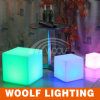 Rechargeable Multi Color Remote Control LED Cube
