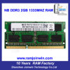 Full Compatible Kvr1333D3n9/2g DDR3 2GB RAM for Laptop