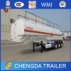 3 Axles 45000 Liters Fuel Oil Tanker Truck Trailers