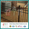 Black Welded Security Garrison Steel Picket Fencing/Ornamental Iron Fence