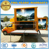Small Foton Outdoor LED Advertising Truck 3 Tons Fodable Stage Vehicle