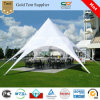 Outdoor Garden Event Star Marquee Tent in UV-Protected PVC Top /Weatherproof Sun Shelter Canopy for 88 Guests Seated at Tables