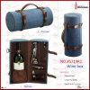 New Design Corrugated Handmade Custom Leather Wine Box (5719R3)