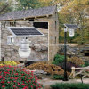6W All in One Integrated Solar LED Garden Street Light