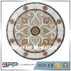 Round Shape Water Jet Marble and Onyx Stone Marble Floor Medallion for Villa Project