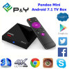 2017 Newest Android TV Box Pendoo Mini Rk3328 1GB 8GB Media Player with Android 7.1 OS