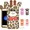 New Cartoon Deer Silicone Phone Case for Huawei P8lite P9 Y6II Y5II Mobile Phone Cover (XS-G120)